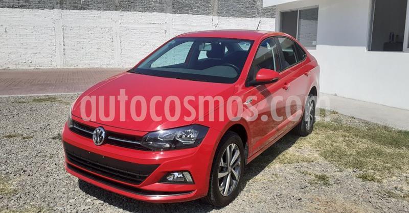 Volkswagen Virtus 1.6L usado (2020) color Rojo precio $239,900