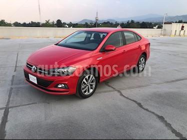 Volkswagen Virtus 1.6L Aut usado (2019) color Rojo Tornado precio $280,000