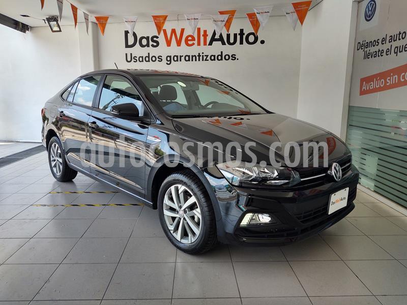 Volkswagen Virtus 1.6L usado (2020) color Negro precio $269,000