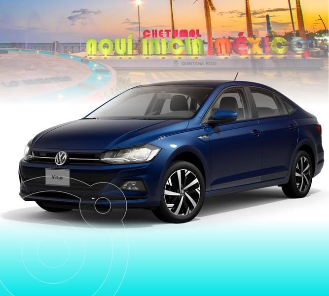 Foto Volkswagen Virtus 1.6L Tiptronic nuevo color Azul Biscay precio $320,999