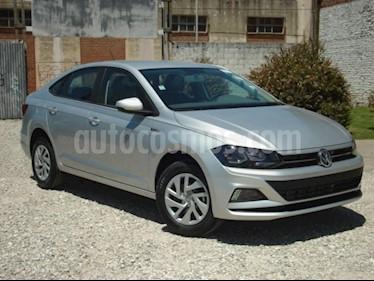 Foto venta Auto usado Volkswagen Virtus Trendline 1.6 Aut (2019) color Gris Claro precio $350.000