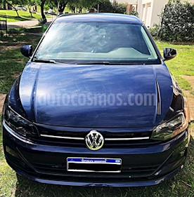 Volkswagen Virtus Trendline 1.6 Pack Safety usado (2019) color Azul precio $630.000
