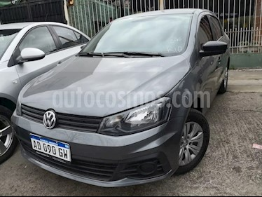 Foto venta Auto usado Volkswagen Voyage 1.6 Trendline (2018) color Gris Platino precio $275.000