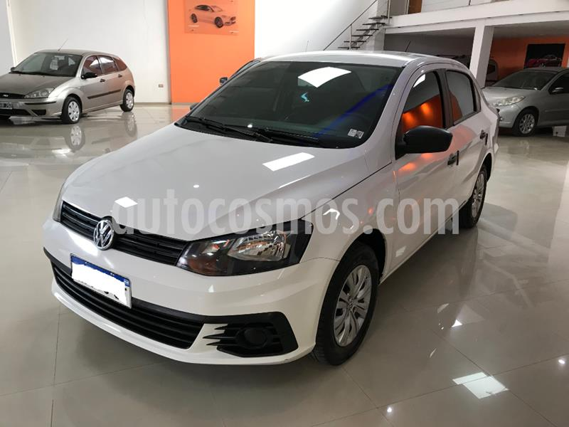 Volkswagen Voyage 1.6 Trendline usado (2017) color Blanco precio $720.000