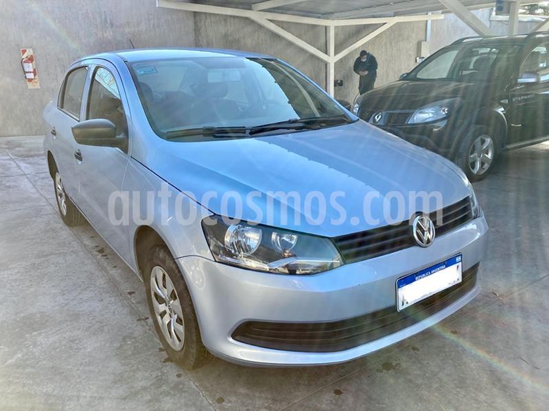 Volkswagen Voyage 1.6 Trendline usado (2016) color Gris Claro precio $645.000