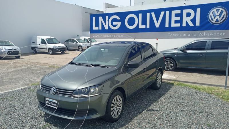 Volkswagen Voyage 1.6 Comfortline Plus usado (2014) color Gris Cuarzo precio $845.000