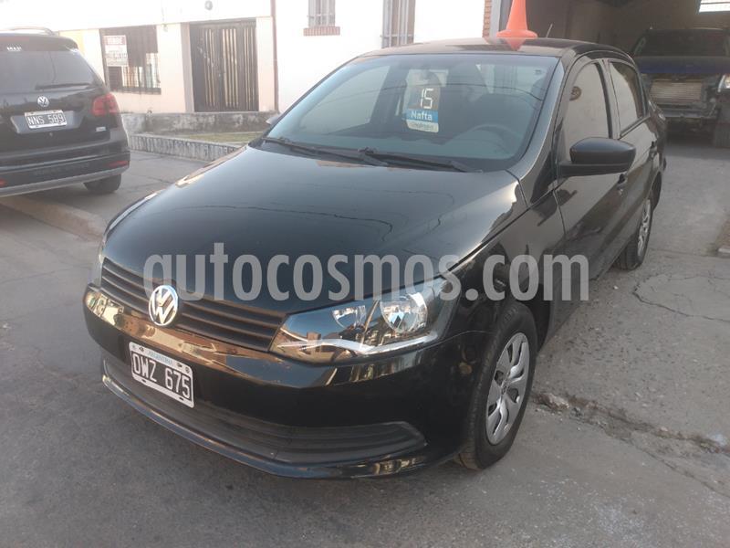 Volkswagen Voyage 1.6 Comfortline Plus Aut usado (2015) color Negro precio $750.000