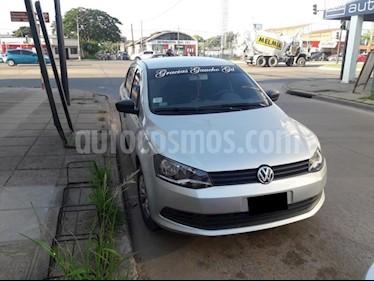 Volkswagen Voyage 1.6 Trendline usado (2016) color Gris Claro precio $465.000