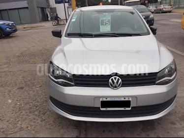 Volkswagen Voyage 1.6 Trendline usado (2015) color Gris Claro precio $590.000