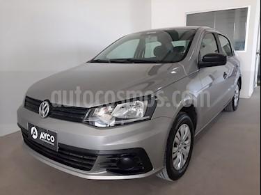 Volkswagen Voyage 1.6 Trendline usado (2016) color Gris Cuarzo