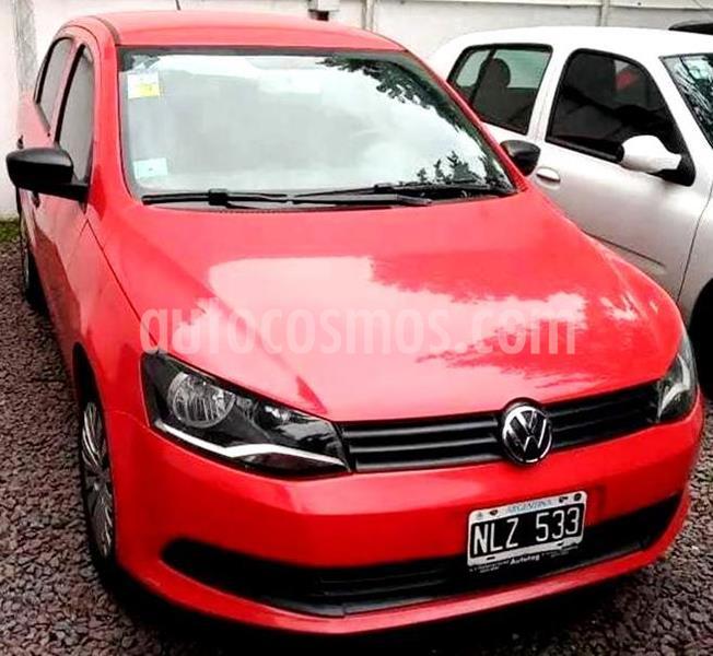 Volkswagen Voyage 1.6 Trendline usado (2014) color Rojo Flash precio $570.000