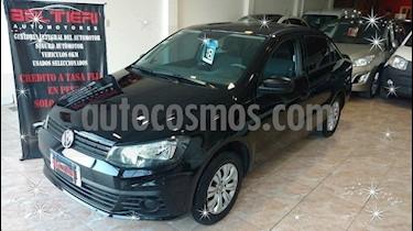 Volkswagen Voyage 1.6 Trendline usado (2018) color Negro precio $550.000