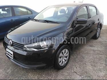 Volkswagen Voyage 1.6 Trendline usado (2015) color Negro precio $530.000