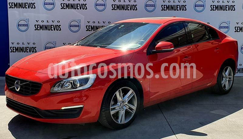 Volvo S60 T4 Addition Plus Aut usado (2016) color Rojo precio $280,000
