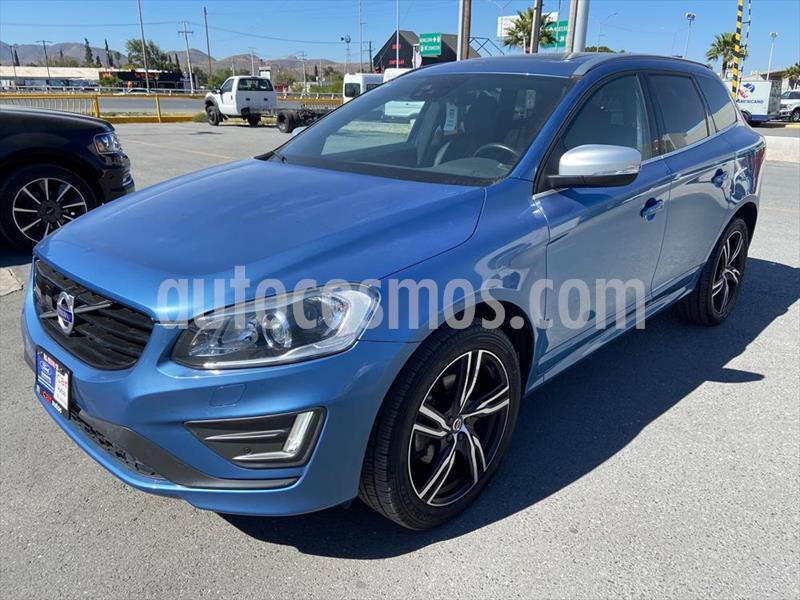 Volvo XC60 T6 R-Design AWD usado (2017) color Azul Electrico precio $399,000