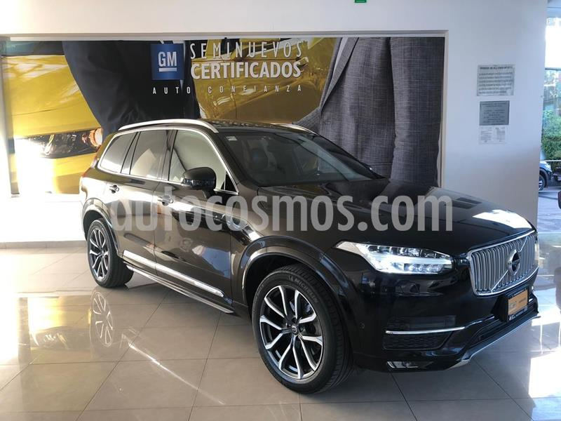 Volvo XC90 T6 Inscription AWD usado (2016) color Negro precio $595,000