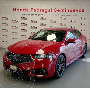 Acura TLX A- Spec usado (2018) color Rojo precio $535,000