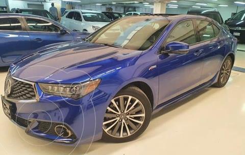 Acura TLX A- Spec usado (2018) color Azul Marino precio $639,900