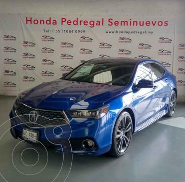 Acura TLX A- Spec usado (2018) color Azul precio $535,000