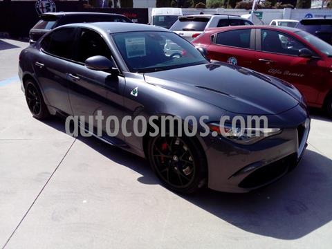 Alfa Romeo Giulia Quadrifoglio V6 Bi-Turbo usado (2018) color Gris Oscuro precio $1,430,000