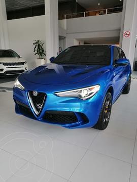 Alfa Romeo Stelvio Quadrifoglio usado (2019) color Azul Acero precio $1,405,000