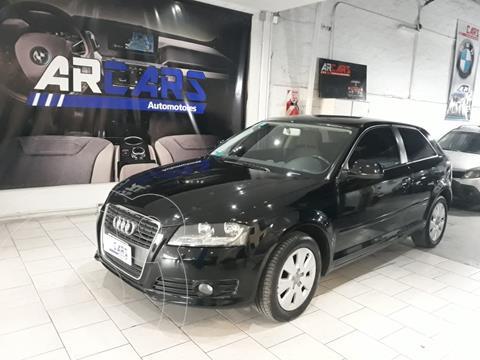 Audi A3 1.6 3P usado (2009) color Negro financiado en cuotas(anticipo $1.100.000)