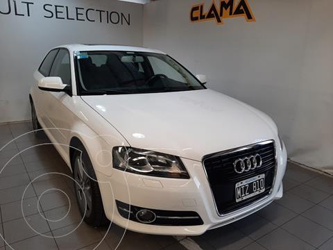 Audi A3 1.6 3P usado (2013) color Blanco Ibis precio $3.250.000