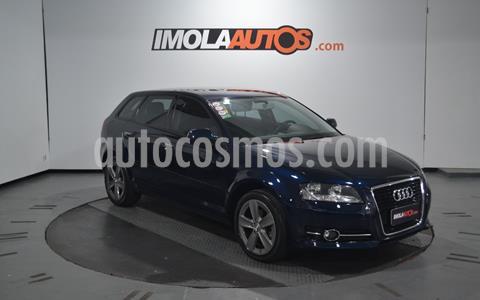Audi A3 Sportback 1.4 T FSI usado (2013) color Azul Cosmico precio $1.550.000