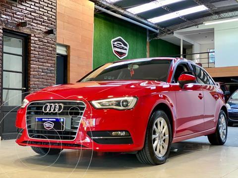 Audi A3 Sportback 1.4 T FSI S-tronic usado (2016) color Rojo financiado en cuotas(anticipo u$s15.000)