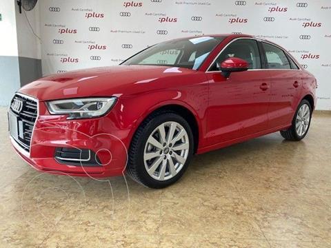 Audi A3 Sedan 1.4L Select Aut usado (2020) color Rojo precio $480,000