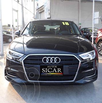 Audi A3 Sedan 1.4L Select Aut usado (2018) color Negro precio $339,000