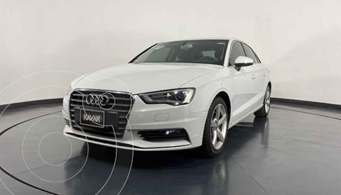 Audi A3 Sedan 1.4L Attraction Aut usado (2015) color Blanco precio $299,999