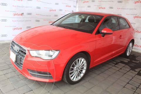 Audi A3 1.4L T FSI Ambiente S-Tronic usado (2016) color Rojo precio $250,000