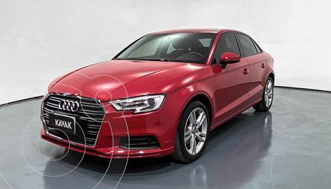 Audi A3 Sedan 1.4L Dynamic Aut usado (2018) color Rojo precio $352,999