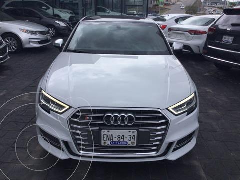 Audi A3 2.0L S-Line usado (2018) color Blanco precio $700,000