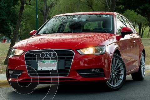 Audi A3 1.4L Ambiente usado (2016) color Rojo Misano precio $235,000