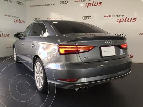 Audi A3 Sedan 35 TFSI Select  usado (2019) color Gris financiado en mensualidades(mensualidades desde $7,899)