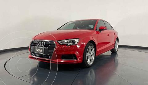 Audi A3 Sedan 1.4L Dynamic Aut usado (2018) color Rojo precio $362,999