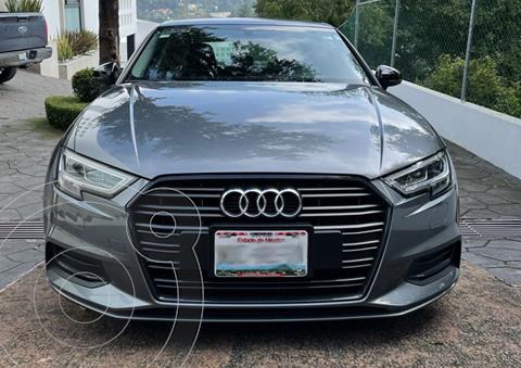 Audi A3 Sedan 2.0L Select Aut usado (2018) color Gris Monolito precio $345,000