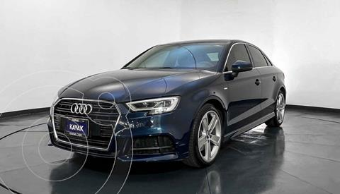 Audi A3 Sedan 1.8L S Line Aut usado (2018) color Azul precio $448,999