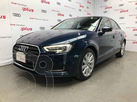 Audi A3 Sedan 1.4L Select Aut usado (2018) color Azul precio $385,000
