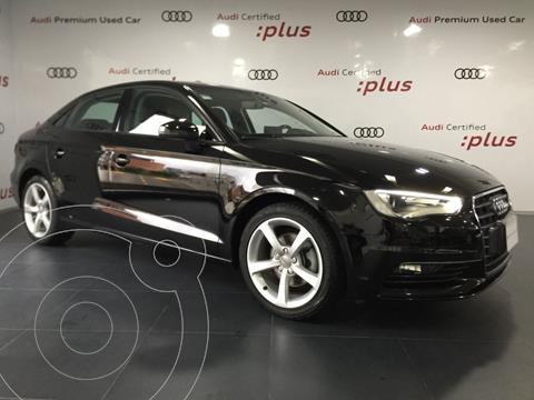Audi A3 1.4L Ambiente Aut usado (2016) color Negro financiado en mensualidades(mensualidades desde $6,189)