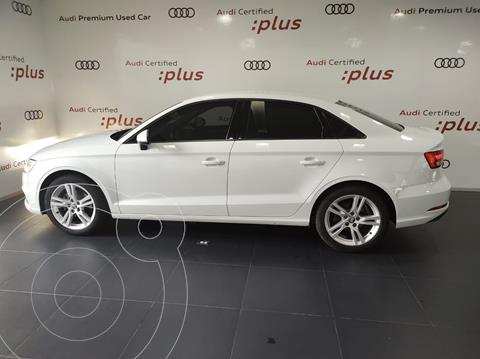 Audi A3 Sedan 1.4L Dynamic Aut usado (2018) color Blanco Glaciar precio $350,000