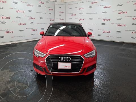 Audi A3 Sedan 2.0L S Line Aut usado (2018) color Rojo precio $465,000