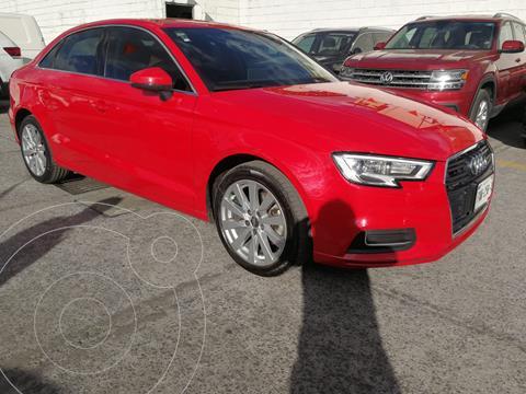 Audi A3 2.0L Select Aut usado (2019) color Rojo Misano financiado en mensualidades(enganche $110,000 mensualidades desde $7,600)