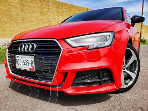 Audi A3 2.0L S-Line Aut usado (2017) color Rojo Shiraz precio $240,000