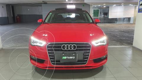 Audi A3 Sedan 1.8L Ambiente Aut usado (2016) color Rojo Bari precio $315,000