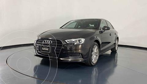 Audi A3 Sedan 1.4L Select Aut usado (2018) color Cafe precio $374,999