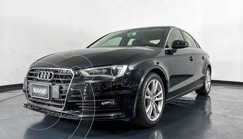 Audi A3 Sedan 1.8L Attraction Plus Aut usado (2014) color Negro precio $239,999