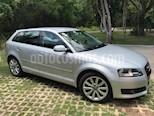 Audi A3 1.8L T FSI Sportback Attraction S-tronic usado (2012) color Plata precio $160,000